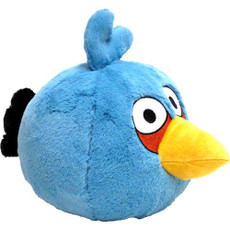 Angry Birds Blue Bird 8 Inch Deluxe Plush (No Sound)