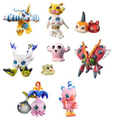 Digimon Adventure DigiColle! Data 2 Trading Figure (Box of 8 Pieces)