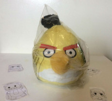 Angry Birds Yellow Bird 8 Inch Deluxe Plush (No Sound)