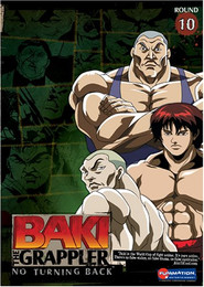 Baki The Grappler: No Turning Back Vol. 10 DVD
