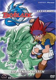 Beyblade: Majestic Match Vol. 08 DVD