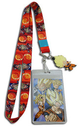 Dragon Ball Super - Father & Sons / SS Goku Charm Ver. 2 Lanyard ID Holder with Charm