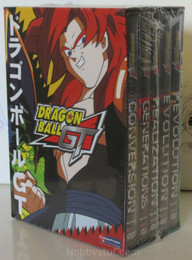 Dragon Ball GT Box Set 3 Volume 11-15 DVD