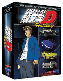 Initial D: Complete Season 1 Box Set DVD