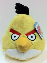 Angry Birds: Yellow Bird 5 Inch Deluxe Plush (No Sound)