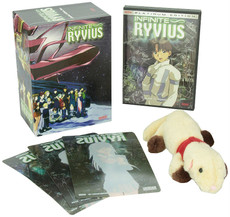 Infinite Ryvius: Lost in Space Vol. 01 DVD with Artbox