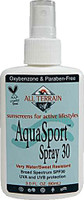 Aquasport Spray SPF30 Sunscreen