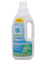 Nature Clean 3X Concentrate Unscented Laundry Liquid 33.fl.oz