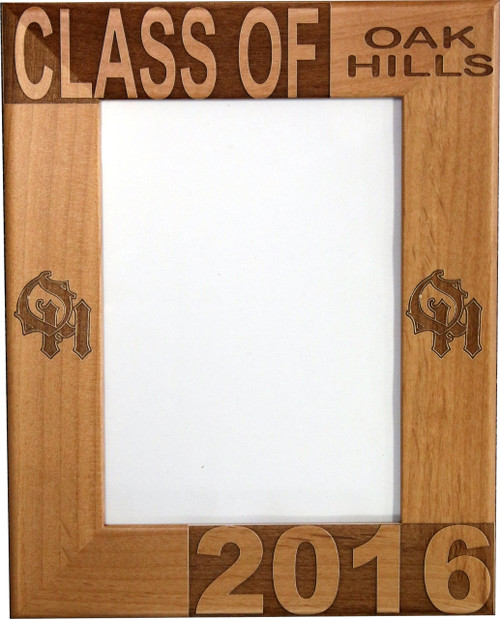 Oak Hills Graduation Frame
