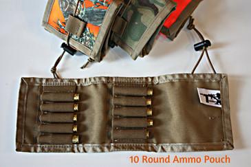 10 Round Ammo Pouch - Open
