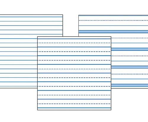 Raised Lines Paper Narrow