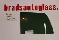 99-06 Tundra Sliding Rear Window Back Glass Slider RIGHT SIDE PANEL