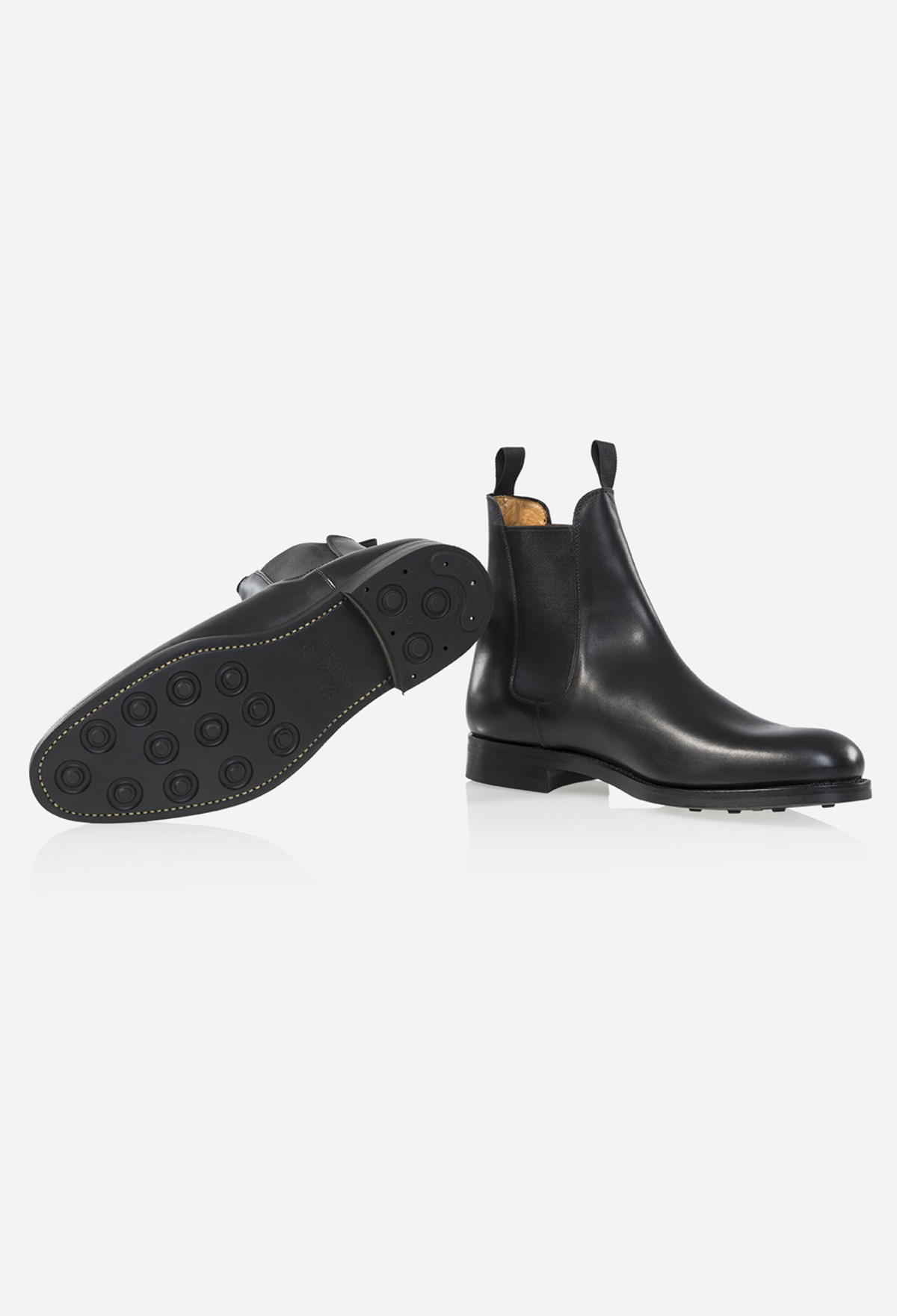Black Johnson Chelsea Boot