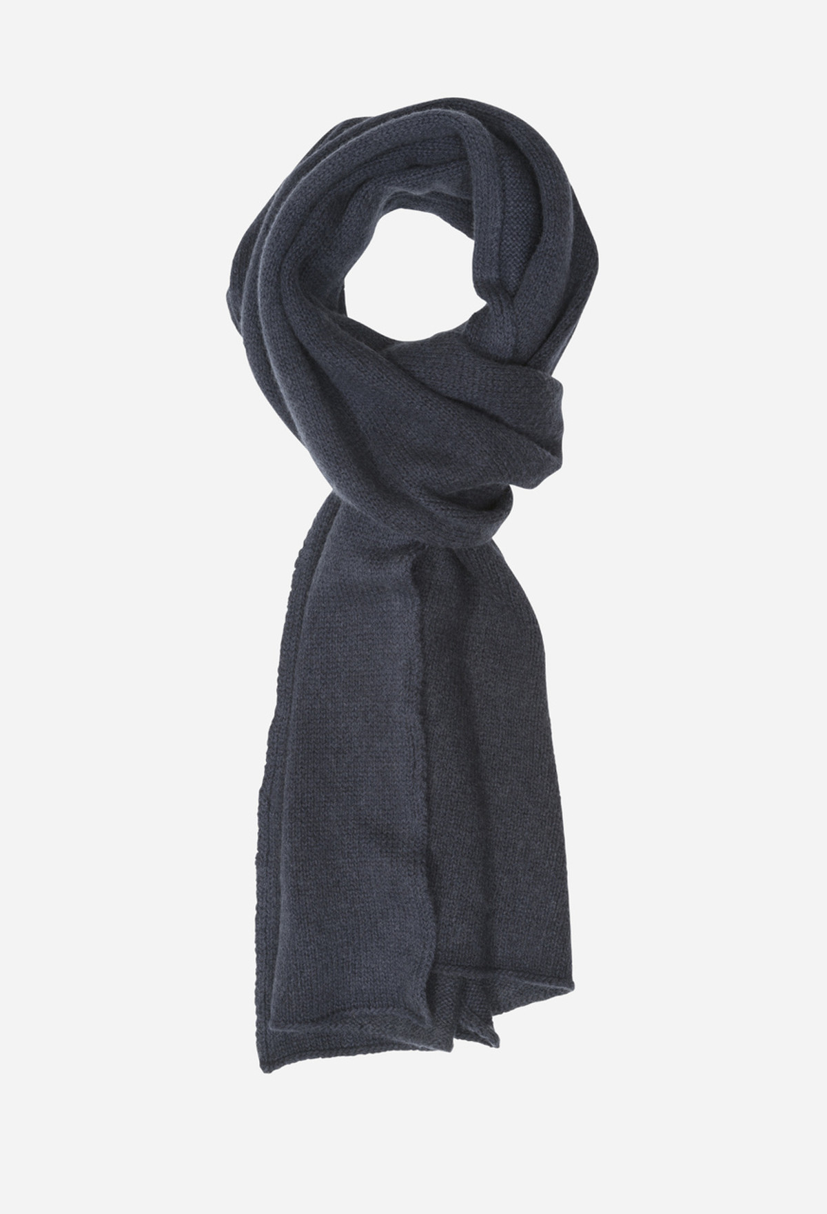 Navy Snow Scarf