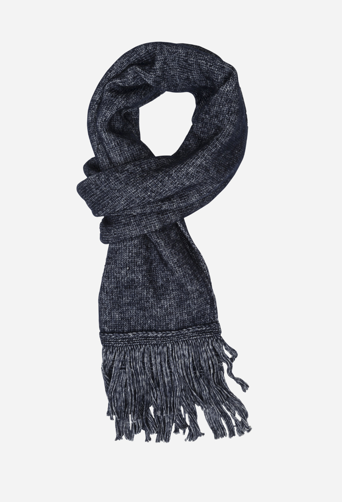 Navy Luxe Scarf