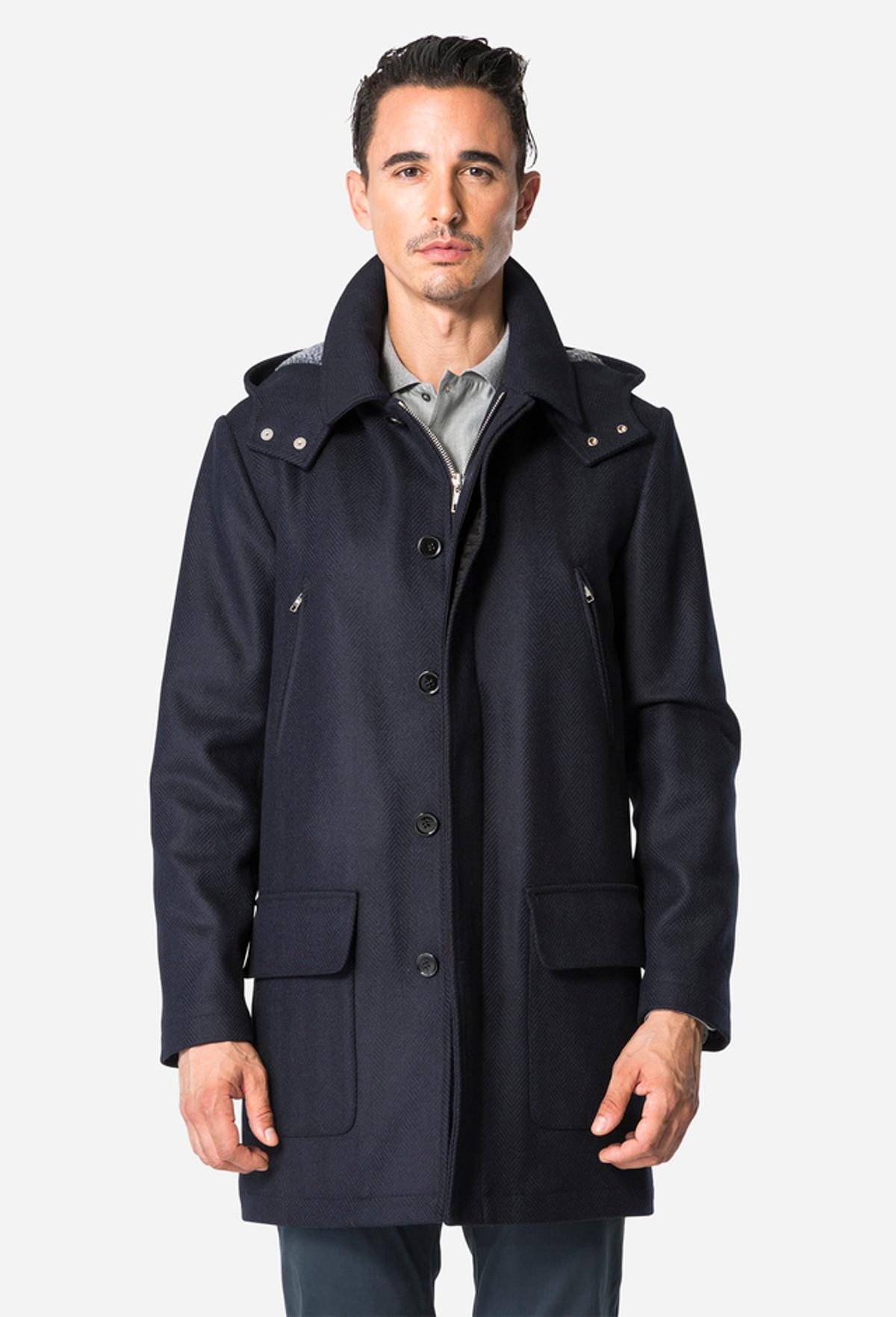 Navy Walking Jacket