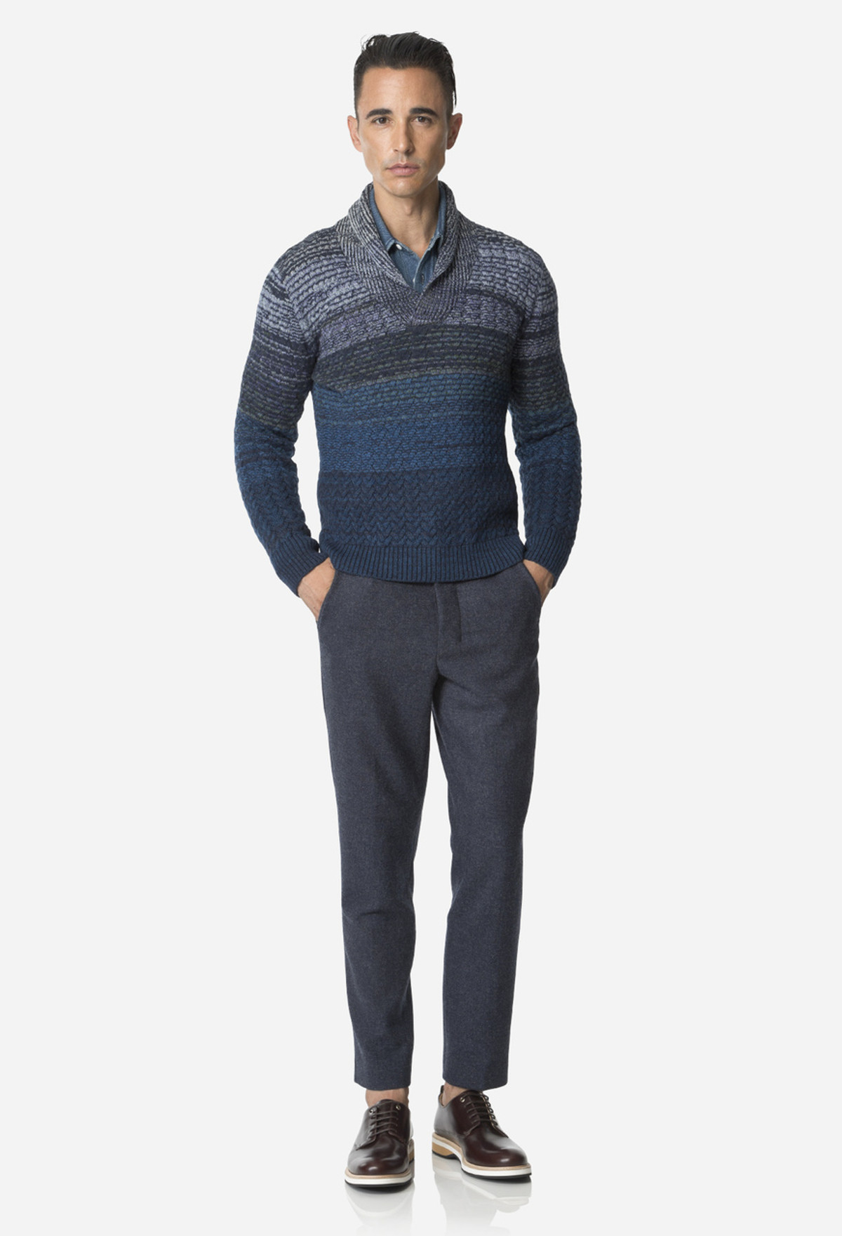 Indigo Carrott Shaped Trouser