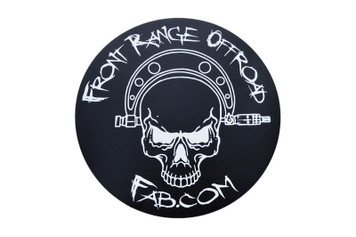 Front Range Skull Sticker