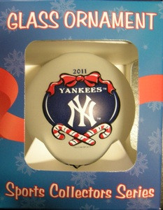 New York Yankees 2011 Ornament