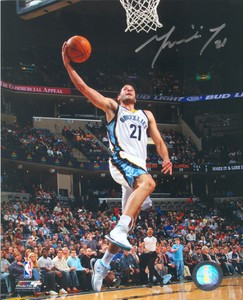 Greivis Vasquez Auto 8x10 Photo #1