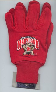 University of Maryland Terps Gloves