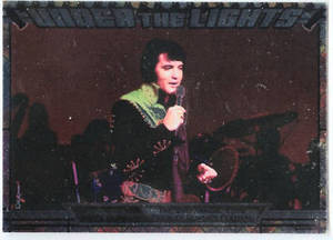 Elvis Milestone Under the Lights UTL 5 card