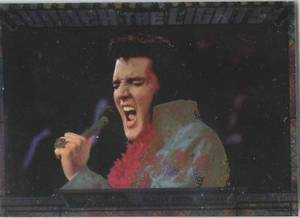 Elvis Milestone Under the Lights UTL 7 card