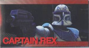 Star Wars Clone Wars Widevision Foil Captain Rex # 13