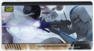 Star Wars Clone Wars Widevision Cell Clone Snowtroopers
