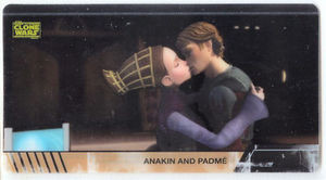 Star Wars Clone Wars Widevision Cell Anakin Padme # 10