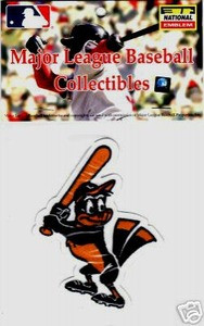"""Baltimore Orioles MLB Licensed 4 """" Bird Patch"""