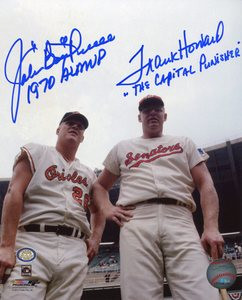 Boog Powell & Frank Howard Auto 8x10 Photo