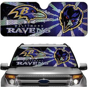Baltimore Ravens Reflective Auto Sun Shade