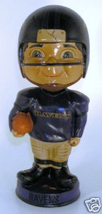 Baltimore Ravens Retro Bobble head Bobbin