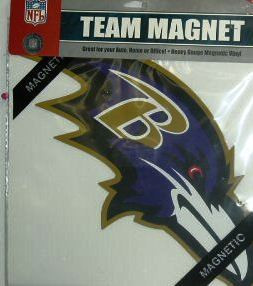 Baltimore Ravens Bird Magnet