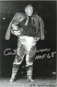 Baltimore Colts Art Donovan autograph photo w/ COA Auto