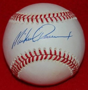 Mike Devereaux Autographed Baseball