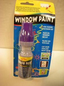 Baltimore Ravens Purple Window Paint