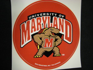 Maryland Terrapins Sticker