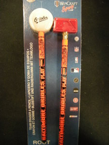 Baltimore Orioles Root-N-Write Pencils