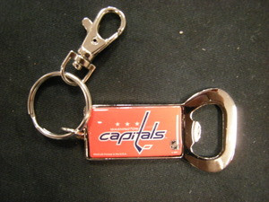 Washington Capitals Bottle Opener Key Chain