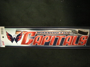 Washington Capitals Bumper Sticker