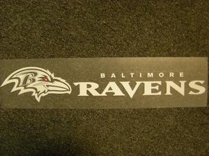 Baltimore Ravens Die Cut Decal