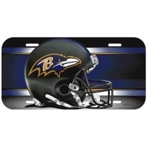 Baltimore Ravens Helmet License Plate