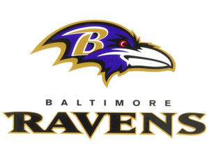 Baltimore Ravens Cling Decal