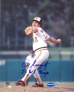 Bill Swaggerty Auto 8x10 Photo