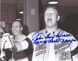Boog Powell Auto 8x10 Photo #2