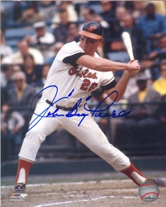 Boog Powell Auto 8x10 Photo #1