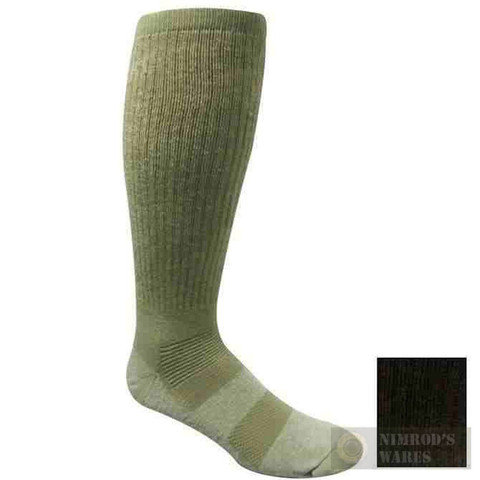 Covert Threads DESERT Military Boot Socks MED BLK 5457