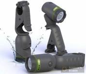 Blackfire WaterProof Clamp Flashlight Pivot/Stand/Float 75/170 Lumens BBM905